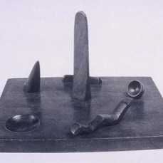Alberto Giacometti; Model for a Public Square; 1931-2; Peggy Guggenheim Collection