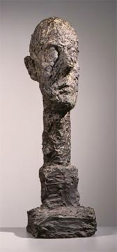 Alberto Giacometti; Monumental Head; 1960; bronze; 95.25 x 27.94 x 25.4 cm; The Phillips Collection