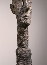 Alberto Giacometti; Monumental Head; 1960; bronze; 95.25 x 27.94 x 25.4 cm; The Phillips Collection