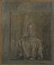 Alberto Giacometti; Portrait of Peter Watson; 1953; oil on canvas; 65 x 54.1 cm; The Museum of Modern Art