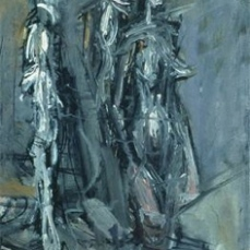 Alberto Giacometti; Studio (detail); 1953; oil on canvas