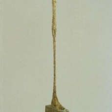 Alberto Giacometti; Tall Figure; 1949; painted bronze; Kunsthalle Basel
