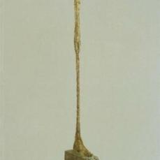 Alberto Giacometti; Tall Figure; 1949; painted bronze; Kunsthalle Basel