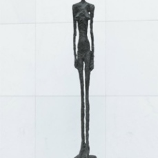 Alberto Giacometti; Tall Figure III; 1960; bronze; 236.2 x 29.5 x 52.4 cm; The Museum of Modern Art