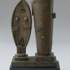 Alberto Giacometti; The Couple; 1927; Bronze; 59.7 x 36.8 x 17.8 cm; The Museum of Modern Art