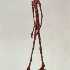 Alberto Giacometti; Walking Man; 1947-48; bronze
