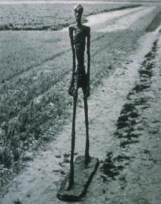 Alberto Giacometti; Walking Man; 1960; bronze; ht. 182 cm