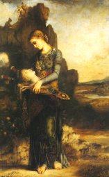 Gustave_Moreau__1865 Orfeo. Gustave Moreau. 1865