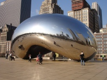 kapoor cloud gate chicago