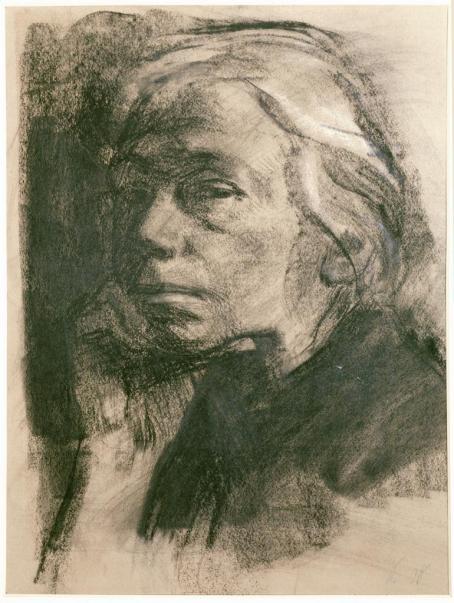 Kollwitz_SelfPortrait_1912