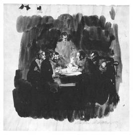 Kollwitz_SixMenAtTheTable_1893