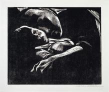 Kollwitz_SleepingWomanWithChild_1929