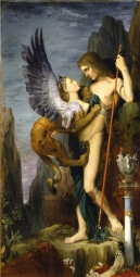 moreau oedipus and the sphinx 1864