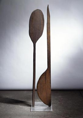 paddle woman 1947