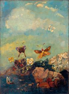 Redon_Butterflies_1910