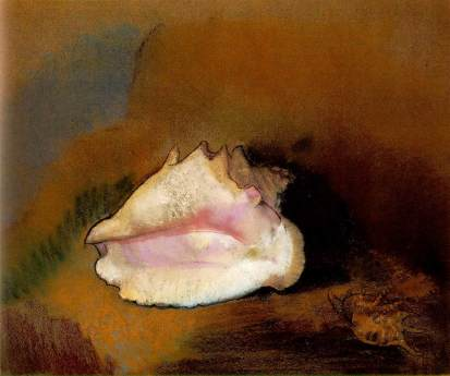 redon_coquille The Seashell 1912