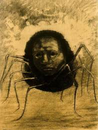 redon_crying-spider 1881