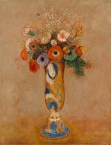 Redon_WildflowersLongNeckVase_1912