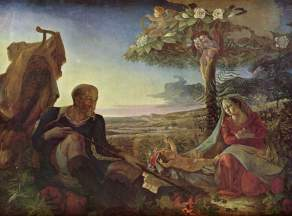 rest on flight to egypt 1810