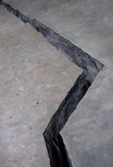Doris Salcedo; Shibboleth (detail); 2007; Tate Modern