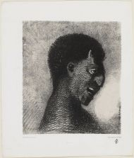 The Satyr with the cynical smile; Plate No 5 from the set The Origins