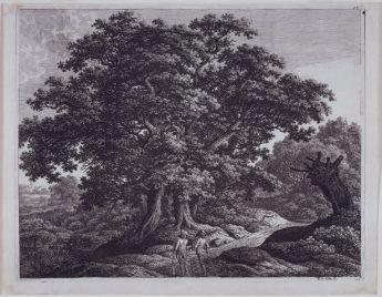 Carl Wilhelm Kolbe, Two Huntsmen in the Wood