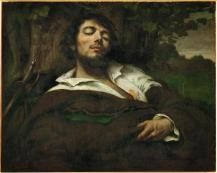 Jean Gustave Courbet; The Wounded Man; 1855; Musée d'Orsay