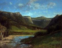 Jean Gustave Courbet; Landscape in the Jura; c.1864; oil on canvas; 72.4 x 91.4 cm; Fine Arts Museums of San Francisco