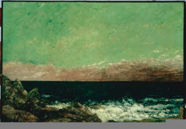 Jean Gustave Courbet; The Mediterranean; 1857; oil on canvas; The Phillips Collection