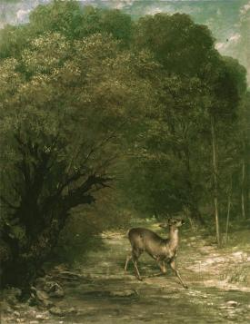 Jean Gustave Courbet; Hunted Roe-Buck; 1867; 111 x 85 cm