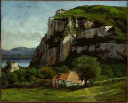 Jean Gustave Courbet; The Rock of Hautepierre