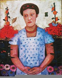 Paula Modersohn-Becker; Lee Hoetger; 1906; oil on canvas; 92 x 73.5 cm