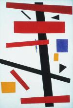 Kazimir Malevich; Suprematism No. 50; 1915; 97 x 66 cm