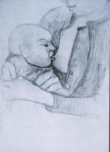 Paula Modersohn-Becker; Infant Nursing; 1904