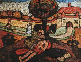 Paula Modersohn-Becker; Good Samaritan; 1907
