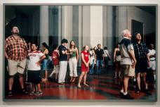 Thomas Struth; Audience 1 (Gallerie Dell'Accademia), Florence; 2004; c-print mooted on UV plexiglass