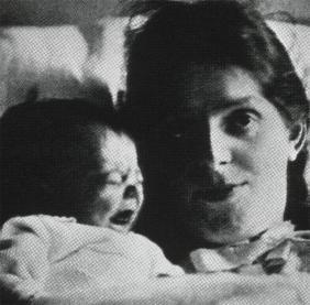 Paula Modersohn-Becker; Paula with her daughter Mathilde; 1907