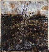 Anselm Kiefer; Seraphim; 1983-4; oil, straw, emulsion, and shellac on canvas; 320.7 x 330.8 cm; Guggenheim Museum, NY