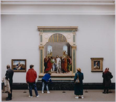 Thomas Struth; National Gallery 1, London; 1989; cibachrome print; 180.3 x 196.2 cm; The John and Mable Ringling Museum of Art