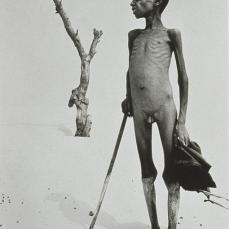 Sebastiao Salgado; Mali: Desert Where Lake Faguibine Used to Be; 1985; photograph