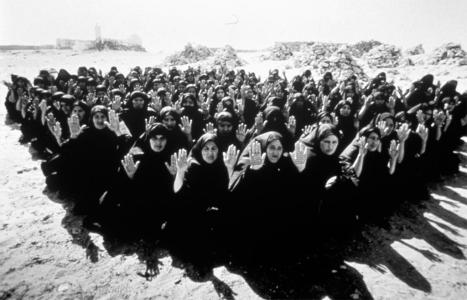 "Shirin Neshat; Untitled from ""Rapture"" Series; 1999; photograph"