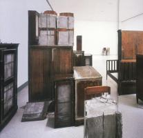 Doris Salcedo; Untitled Works; 1989-95; Carnegie Museum of Art, Pittsburgh