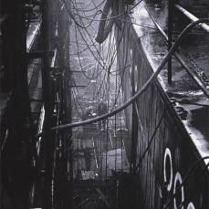 Sebastiao Salgado; Shipyards, Poland and France; 1990