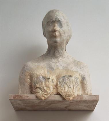 Kiki Smith; Untitled; 1990; paper and wood; 20 x 18 x 18 inches; Museum of Fine Arts, Boston