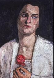 Paula Modersohn-Becker; Clara Rilke-Westhoff; 1905; oil on canvas; 52 x 36.8 cm