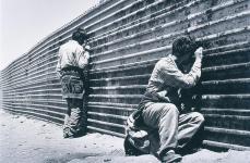 Sebastiao Salgado; Border Fence, Tijuana, Mexico; 1997
