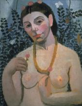Paula Modersohn-Becker; Self-Portrait with an Amber Necklace; 1906; oil on board; 61 x 50 cm