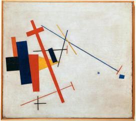 Kazimir Malevich; Suprematist Composition; 1915; Wilhelm-Hack-Museum