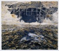 Anselm Kiefer; Ash Flower (Aschenblume); 2004; oil, acrylic, and emulsion on canvas; 243 x 281.5 cm