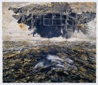 Anselm Kiefer; Ash Flower (Aschenblume); 2004; oil, acrylic, and emulsion on canvas; 243 x 281.5 cm
